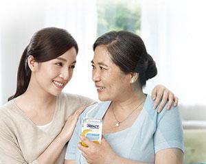 經由實驗證明,癌症患者在手術前後飲用雀巢飲沛,跟補充一般營養配方的患者相比較在活力能量上大大提升28%,也因此提高患者的生活品質