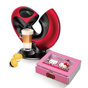 Nescafe Dolce Gusto Eclipse與膠囊木盒
